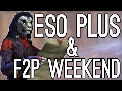 ESO Plus & F2P Weekend