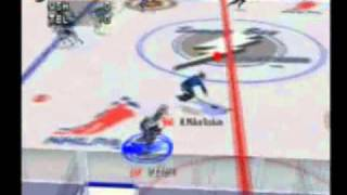 NHL Pro 99 (Nintendo64) Gameplay 1st half