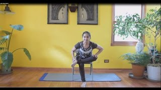 Chair Yoga with Vidya Nahar - full one hour practice