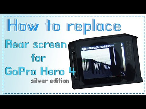 [GoPro  Hero 4 silver] Rear touch screen repair