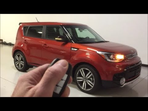 2018 kia soul with remote start added to the oem key fob. Black Bedroom Furniture Sets. Home Design Ideas