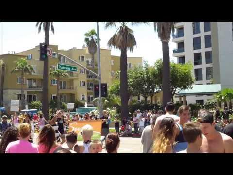 Gay Pride Parade  Long Beach- California - 2013