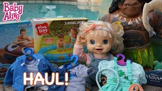 BABY ALIVE Walmart Haul!