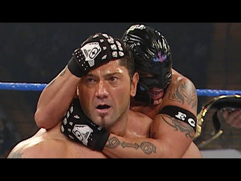 Batista & Rey Mysterio vs. MNM: WWE Tag Team Championship Match - SmackDown, December 16, 2005