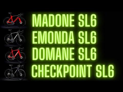 Trek Carbon Bikes Compared | Madone SL6 vs Emonda SL6 vs Domane SL6 vs Checkpoint SL6