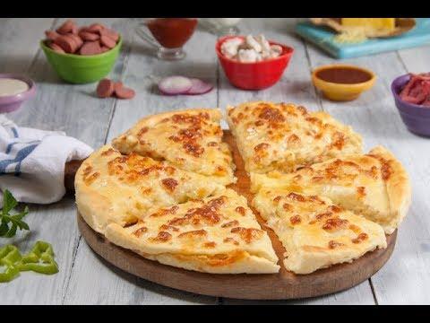 طريقة عمل البيتزا بحشوات مختلفة على طريقة رحمة رمضان  - ELWASFA