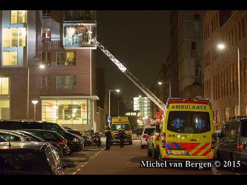 Dode bij schietpartij aan de Pieter van der Werfstraat in Geuzenveld Amsterdam-West