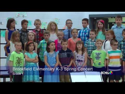 Brookfield Elementary School Spring 2017 Concert, K-3
