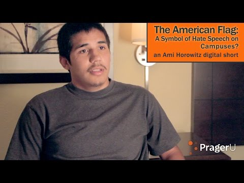 The American Flag: A Symbol of Hate Speech on Campuses?