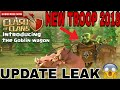 "NEW UPCOMING TROOP IN CLASH OF CLANS ""GOBLIN WAGON"" 