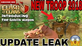 """NEW UPCOMING TROOP IN CLASH OF CLANS """"GOBLIN WAGON"""" 