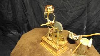 Update: Miniature Solenoid Engine Wheel Gringer & Man W Eyes