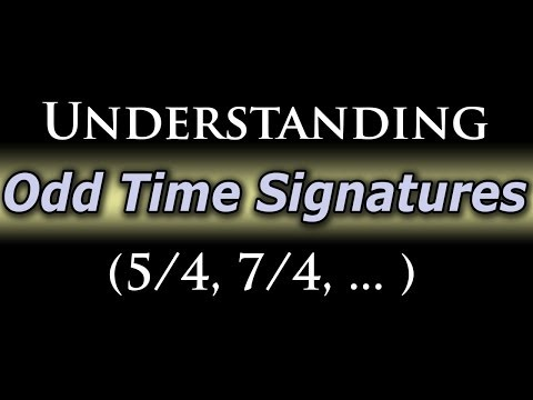 Odd Time Signatures: A Piano and Guitar Tutorial (5/4, 7/4, ... )