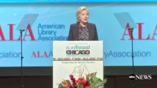 Hillary Clinton's New Profession Hawking Books