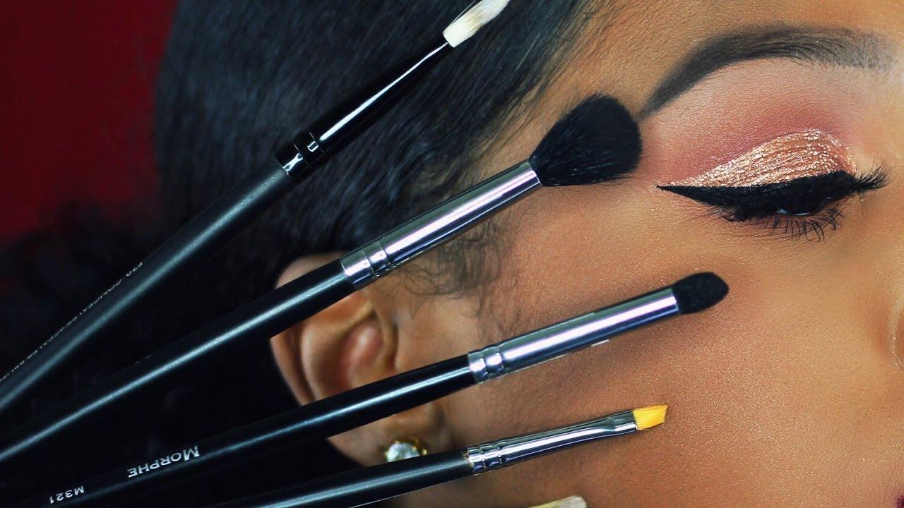 Eyeshadow brushes for beginners morphe