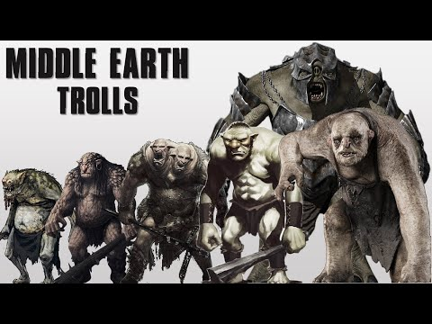 The 7 Different Trolls Of Middle Earth