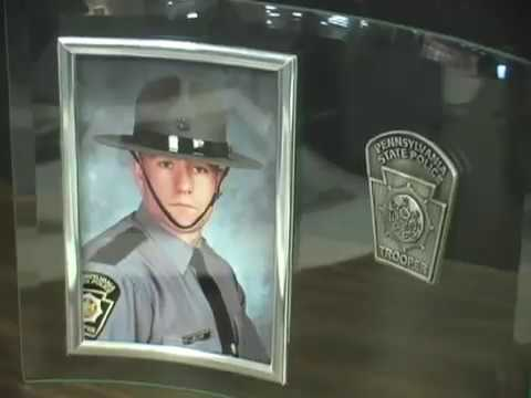 Thousands gather for funeral of slain Pa. trooper Miller