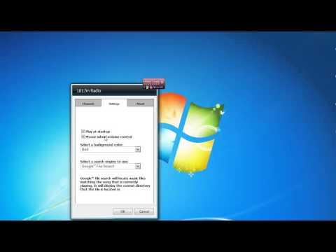 Radio 181.Fm Windows 7 Desktop Gadget