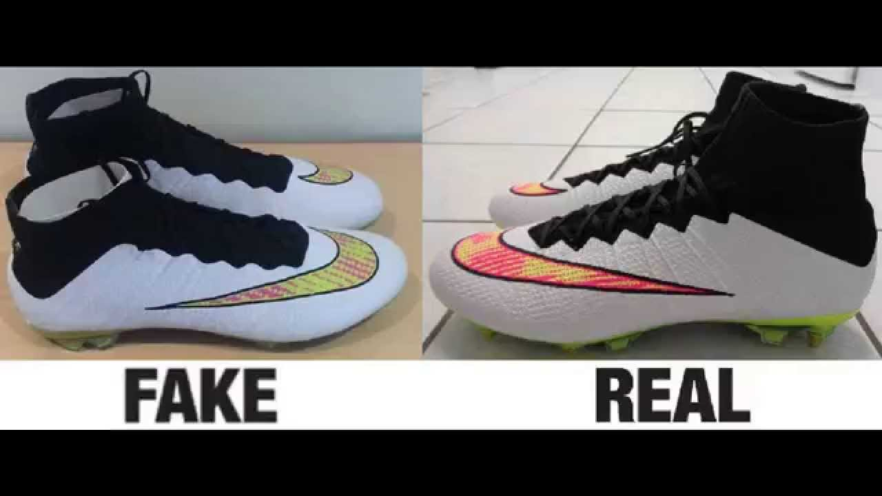 cd0e2f42c221 How To Spot Fake Nike Mercurial Superfly IV 4 Authentic vs Replica ...