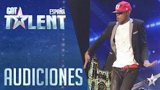 El bailarín que mueve todo su cuerpo | Audiciones 3 | Got Talent España 2016