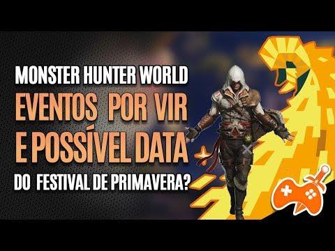 Monster Hunter World News | Possível DATA do evento de primavera e EVENTOS que estão por VIR thumbnail