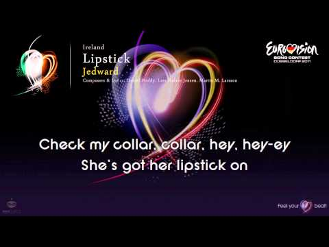 "Jedward - ""Lipstick"" (Ireland) - [Karaoke version]"