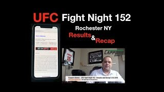 UFC Fight Night 152 Rochester NY Results and Recap
