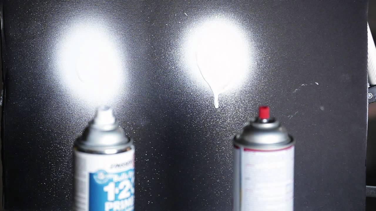 Paint And Primer >> Zinsser Bulls Eye 123 Spray Versus The Competition - YouTube