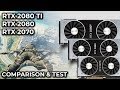 Nvidia geforce rtx 2070 vs 2080 vs 2080 ti 4k performance analysis comparison sponsored mp3
