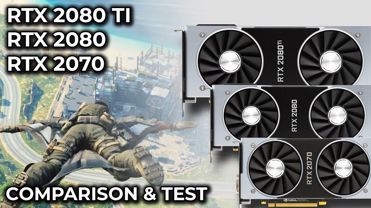 NVIDIA GeForce RTX 2070 vs  2080 vs  2080 Ti 4K Performance Analysis &  Comparison [sponsored]