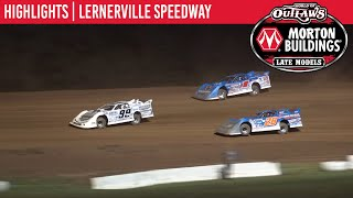 World of Outlaws Morton Buildings Late Models Lernerville Speedway, June 27th, 2020 | HIGHLIGHTS