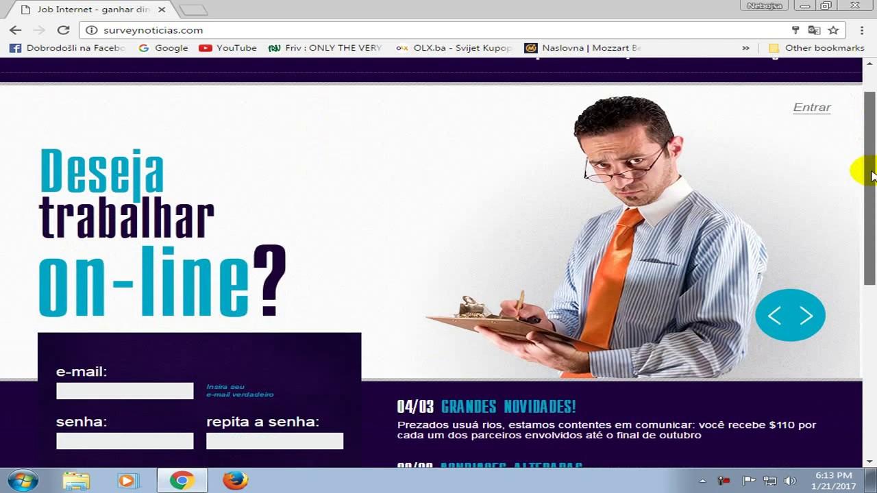 Surveynoticias Siguran Nacin Zarade Dnevna Zarada Do 300 Youtube
