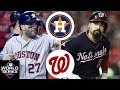 Houston Astros Vs. Washington Nationals Highlights   World Series Game 4 (2019)