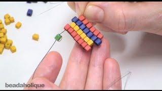 How To Do Brick Stitch Bead Weaving