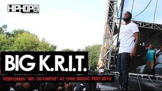 Big K.R.I.T. Performs