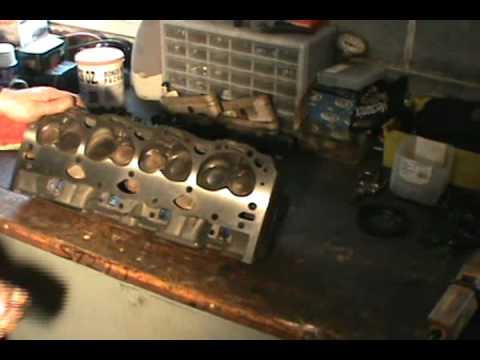 Head Gasket Replacement >> Part 3, Vortec 5.7 350 head gasket, water pump & timing ...