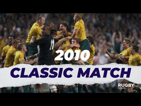 FULL REPLAY | 2010 Bledisloe Cup G4: Wallabies Vs All Blacks