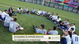 Entrenadores de Rionegro renuevan sus conocimientos futbolísticos