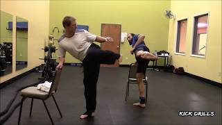 Black Belt Workout #11: Kicking And Punching Pad Drills For Accuracy & Endurance