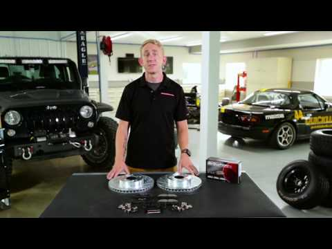 Power Stop K7359 Front /& Rear Z23 Evolution/Sport Brake Upgrade Kit