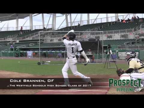 Cole Brannen prospect video, OF, The Westfield Schools High School Class of 2017