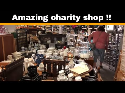 Charity Shop Bargain Hunting Trip - UK Ebay Resellers