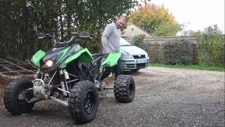 400 LTZ SWAP 750 GSXF / 17300 Rochefort (une bombe ambulante) HD