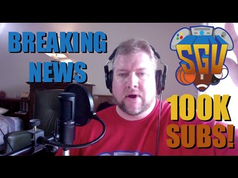 100,000 Subscribers on Sports Gaming Universe