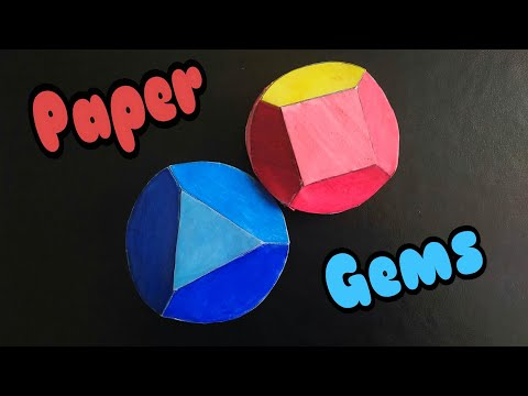 DIY Paper Gems (Ruby)