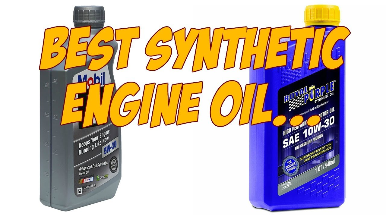 Best synthetic engine oil 2017 youtube for Best motor oil for diesel engines