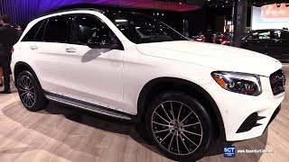 2019 Mercedes Benz GLC 300 AMG Line - Exterior and Interior Walkaround - 2018 LA Auto Show