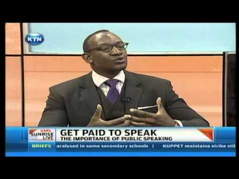 Sunrise Live Interview - The importance of public speaking