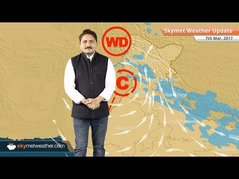 Weather Forecast for March 7: Rain in Kashmir, Rajasthan, Haryana, Vidarbha