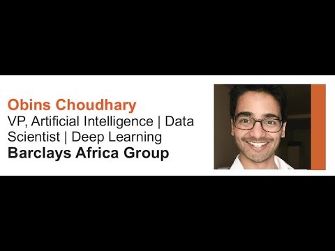 AI Africa Conference Oct 2017 - AI in Financial Services Sector - Obins Cloudhary